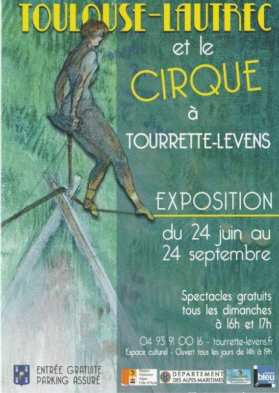 """EXPOSITION """"TOULOUSE LAUTREC ET LE CIRQUE"""