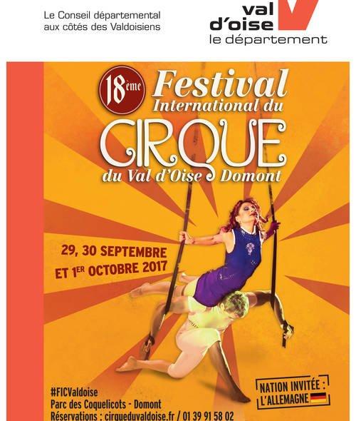 FESTIVAL DE CIRQUE DU VAL D'OISE
