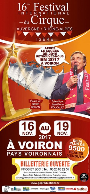 FESTIVAL INTERNATIONAL DU CIRQUE DE VOIRON