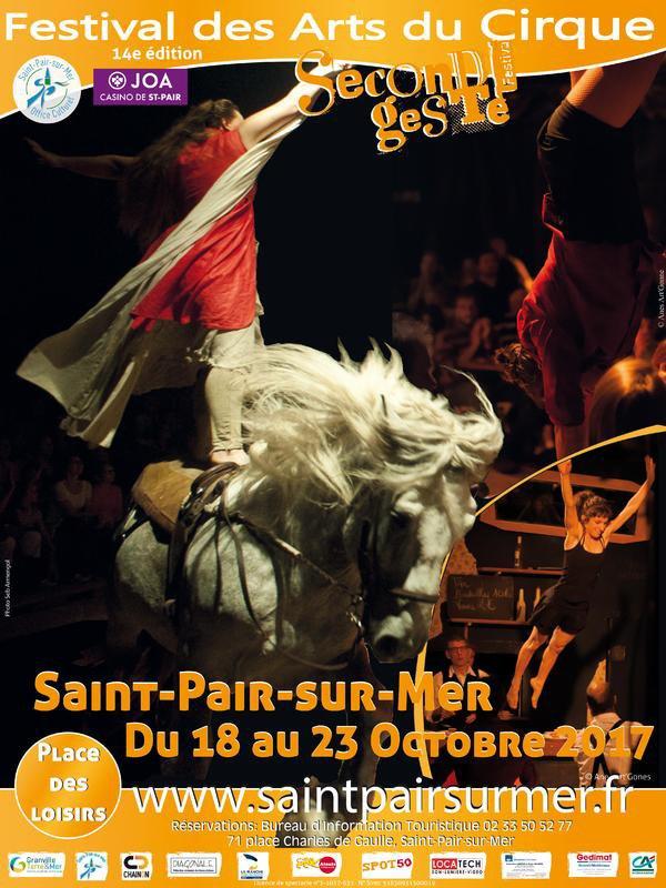 FESTIVAL DES ARTS DU CIRQUE DE SAINT-PAIR-SUR-MER.