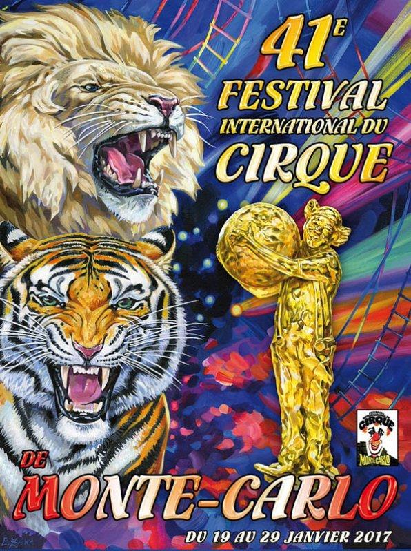 41ème FESTIVAL DU CIRQUE DE MONTE-CARLO