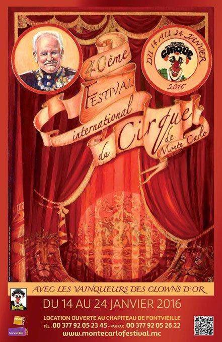 40ème FESTIVAL DU CIRQUE DE MONTE-CARLO