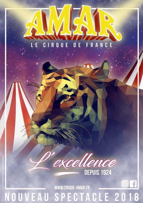 "CIRQUE AMAR 2018 : ""L'EXCELLENCE"""