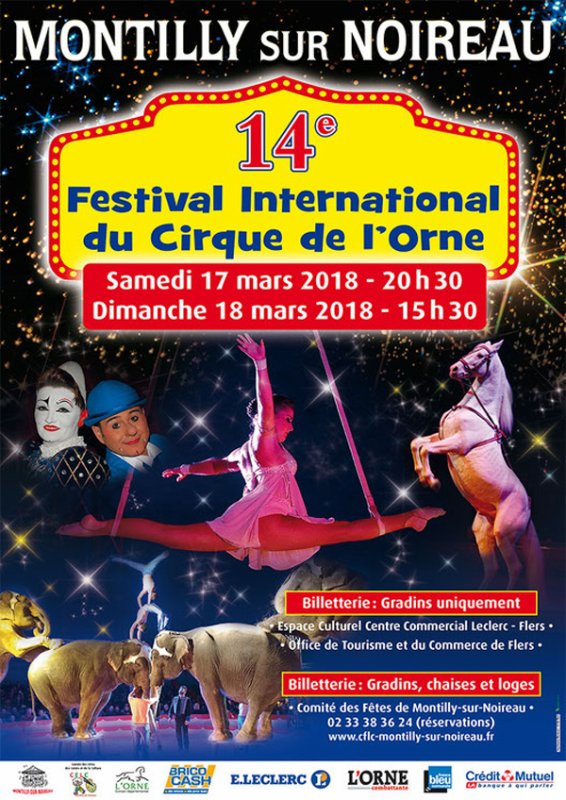 14ème FESTIVAL INTERNATIONAL DU CIRQUE DE L'ORNE