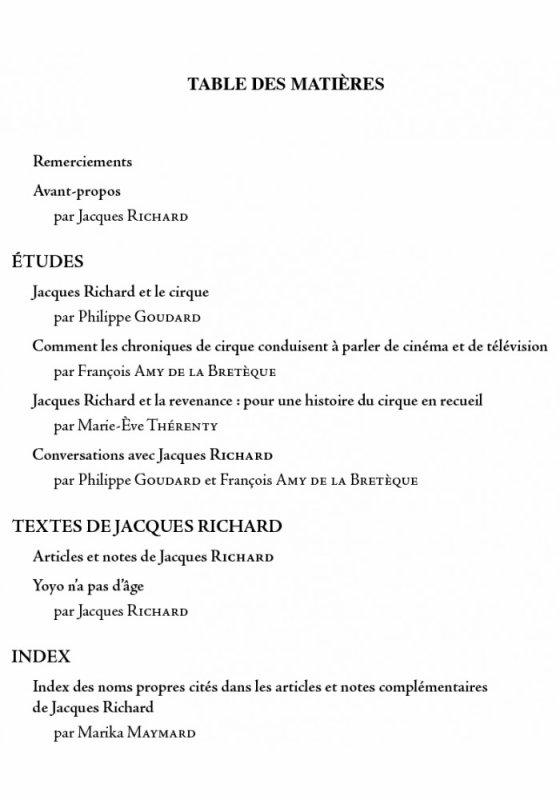 CARNET NOIR : JACQUES RICHARD