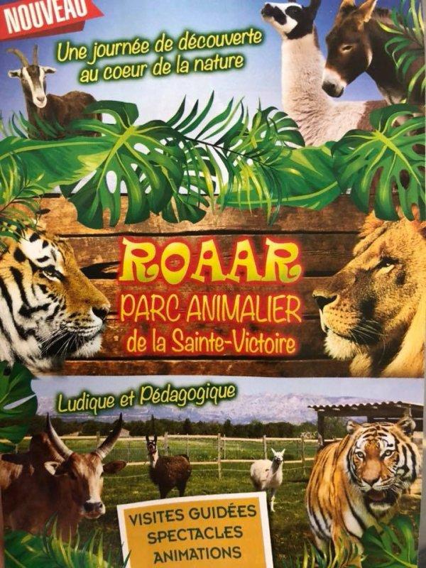 ASSOCIATION ROAAR ET PARC ANIMALIER DE LA SAINTE VICTOIRE