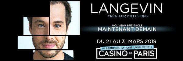 LUC LANGEVIN AU CASINO DE PARIS EN 2019