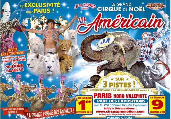 GRAND CIRQUE DE NOËL AMÉRICAIN