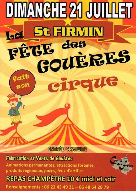 FÊTE DES GOUÈRES DE SAINT-FIRMIN