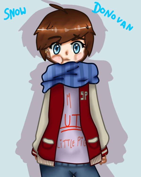 || FICHE OC :  Snow Donovan ||