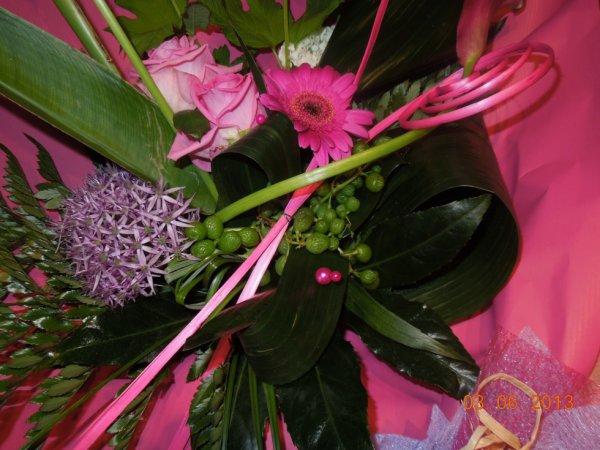 mon bouquet de fleur pour nos 47 ans de mariage