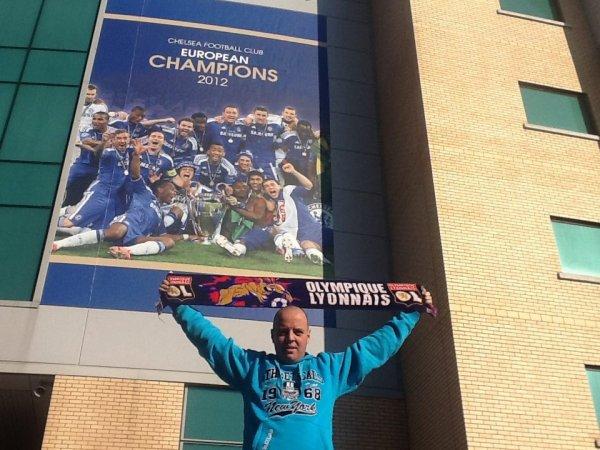 A Stamford Bridge à Londres !!