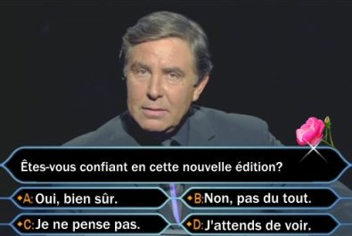 On poursuit, avec un sondage..
