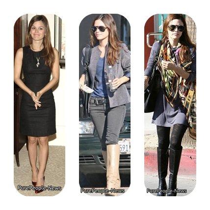 Les styles de Rachel Bilson