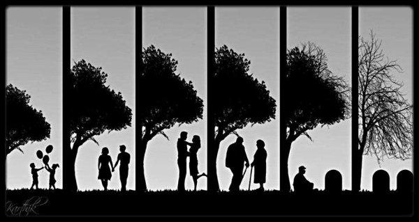 La vie est triste quand on est heureux