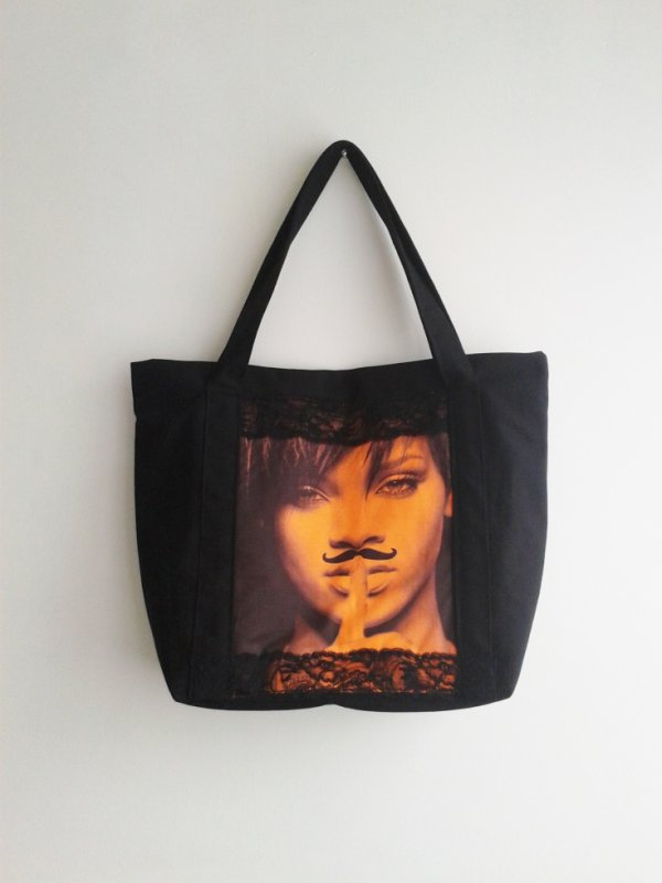 il est noir, sexy !! le sac Rihanna à découvrir sur la boutique...chut !!!
