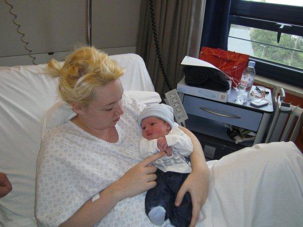 Mon fils a la naissance