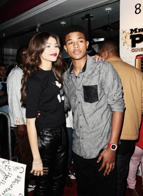 Zendaya & Trevor♥
