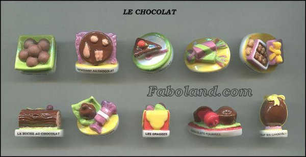 "Collection Perso ""Le Chocolat"""