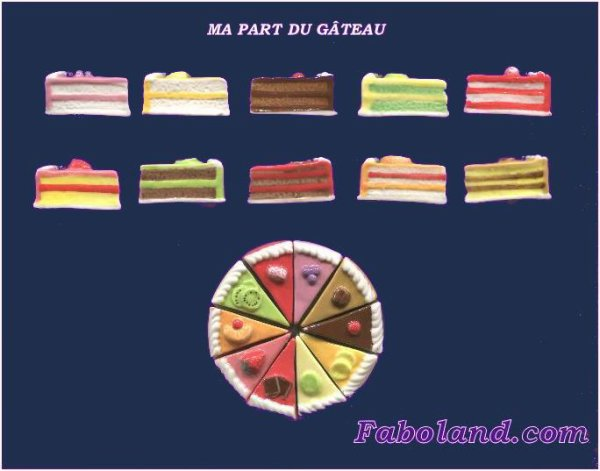 """Recherche la collection """"Ma Part du Gâteau"""""""