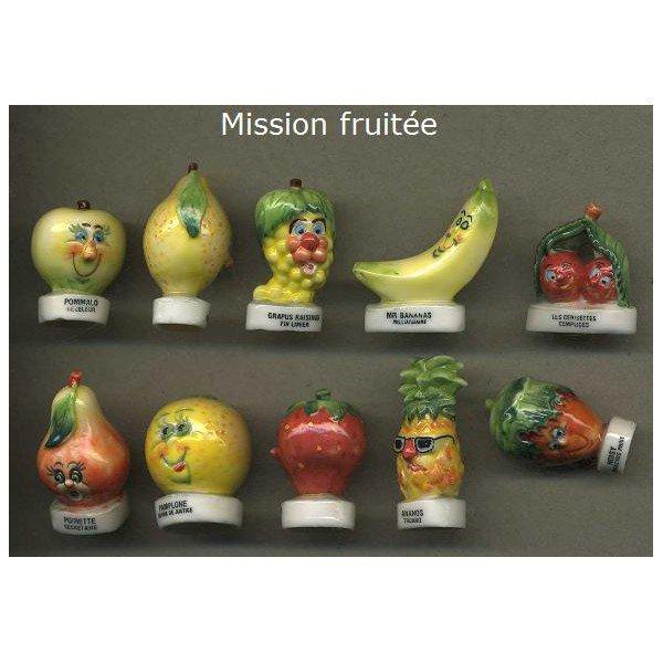 """Recherche la collection """"Mission Fruitée"""""""