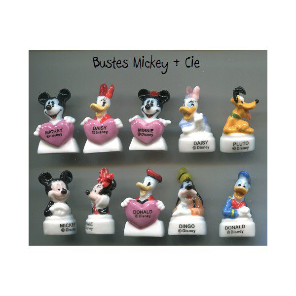"Collection Perso ""Bustes Disney et Cie"""