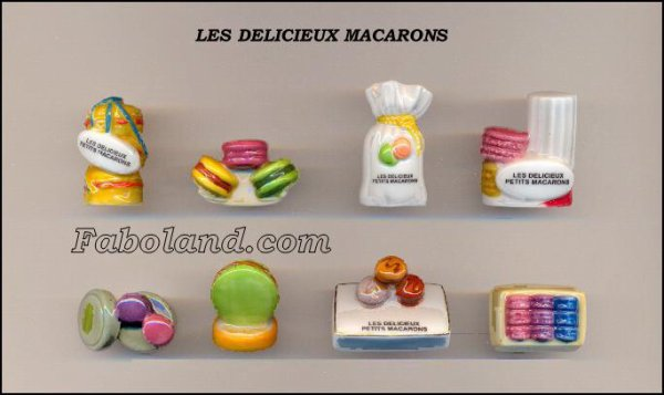 "Collection Perso ""Les Délicieux Macarons"""