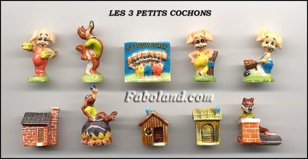 "Collection Perso ""Les 3 Petits Cochons"""