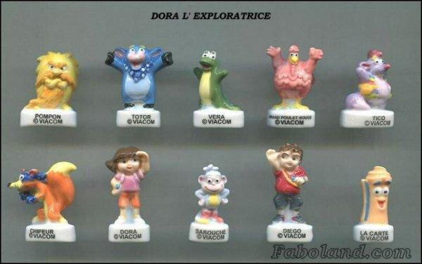 "Recherche toute la collection ""Dora l'Exploratrice"""