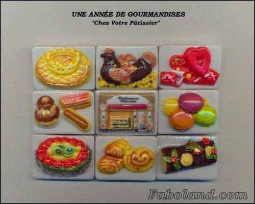 """Collection Perso """"Puzzle Une Année de Gourmandises"""""""