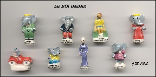 "Collection Perso ""Babar"" + 1 série à échanger"