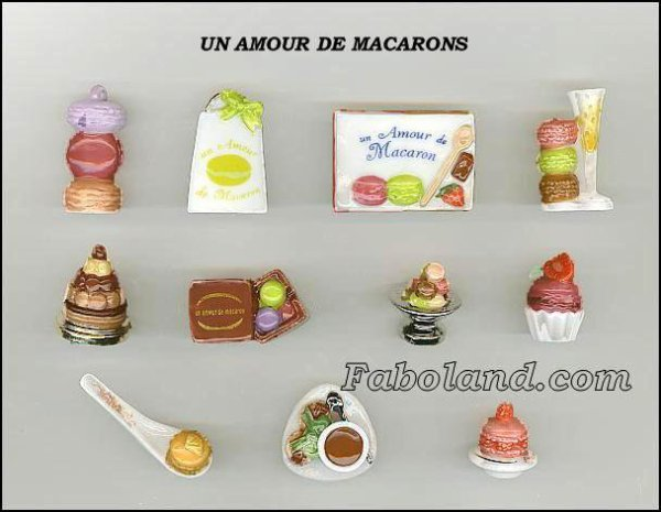 """Recherche la collection """"Un Amour de Macarons"""""""