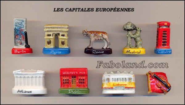 "Collection Perso ""Capitales d'Europe"""