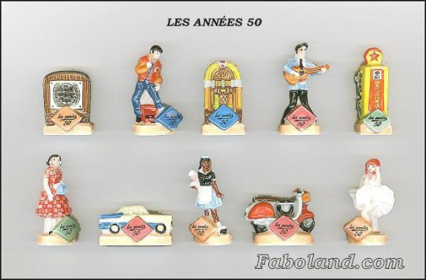 "Collection Perso ""Les Années 50"""