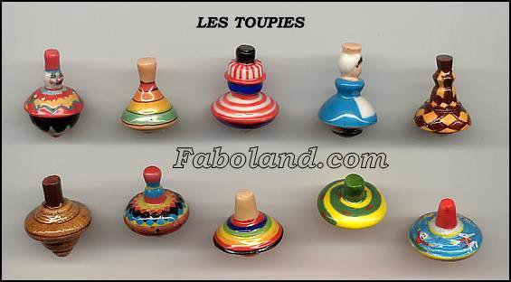 "Collection Perso ""Les Toupies"""