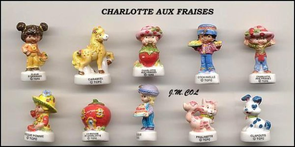 "Collection Perso ""Charlotte aux Fraises"""