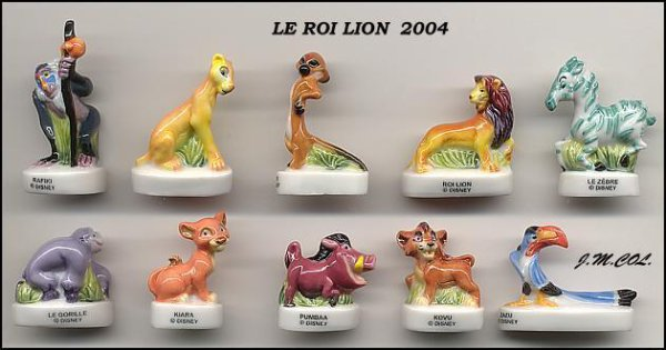 "Collection Perso ""Le Roi Lion"""