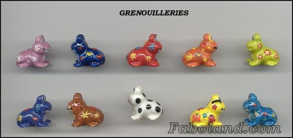 """Collection Perso """"Les Grenouilles"""""""