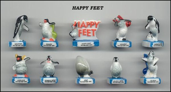 "Collection Perso ""Happy Feet"""