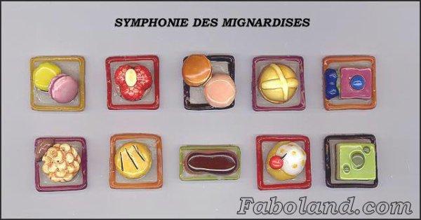 """Recherche la collection """"Symphonie des Mignardises"""""""