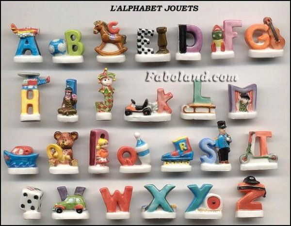 "Collection Perso ""Alphabet"""