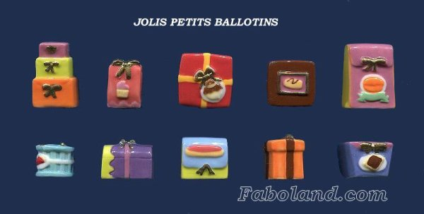 "Recherche la collection ""Les Jolis Petits Ballotins"""