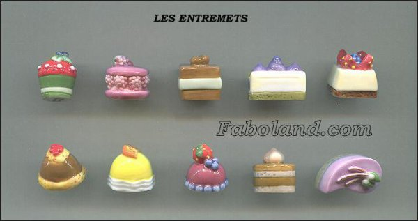 "Collection Perso ""Entremets"""