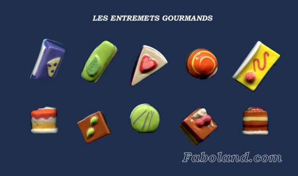 "Collection Perso ""Les Entremets Gourmands"""