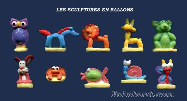 """Recherche la collection """"Les Sculptures en Ballon"""""""