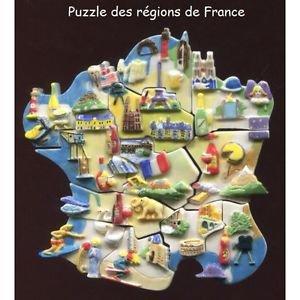 """Collection Perso """"Puzzle des Regions de France"""""""