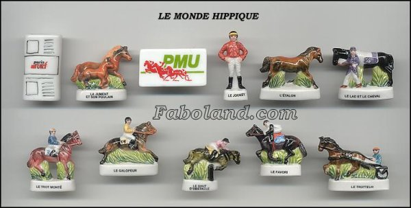 "Collection Perso ""Le Monde Hippique"""