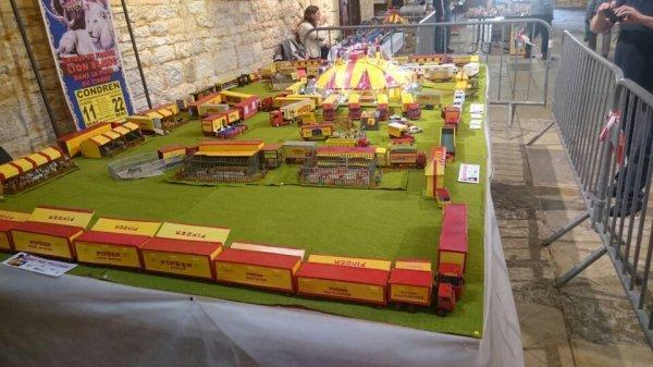 Exposition du modélisme et de la miniature à Gourdon (46)