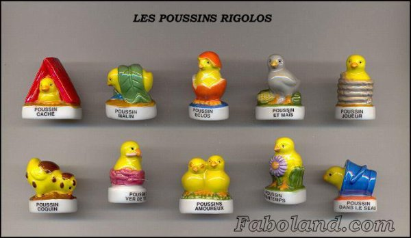 "Collection Perso ""Poussins Rigolos"""