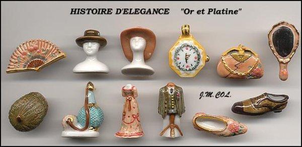 """Collection Perso """"Histoire d'Elégance"""""""